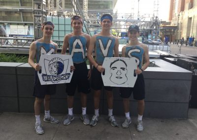 Fans & Their Mavericks Game Signs!